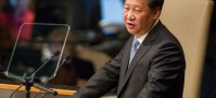 UN Photo/Loey Felipe President Xi Jinping of the People's Republic of China addresses the general debate of the General Assembly's seventieth session.